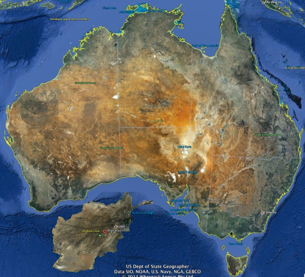 Oz-Afghanistan-size-comparison